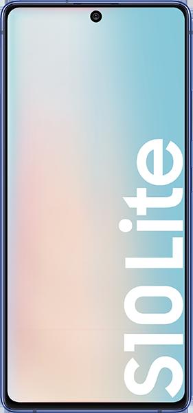 Samsung Galaxy S10 Lite Prism Blue Bundle mit 20 GB LTE