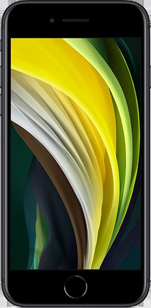Apple iPhone SE 64 GB Schwarz Bundle mit 20 GB LTE